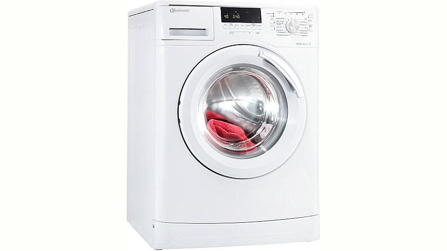 BAUKNECHT Waschmaschine WA Sens XXL 824 BW, A+++, 8 kg, 1400 U/Min,
