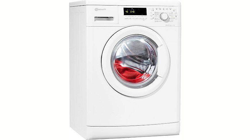 BAUKNECHT Waschmaschine WA PLUS 844 A+++, 8 kg, 1400 U/Min, Energieeffizienz: