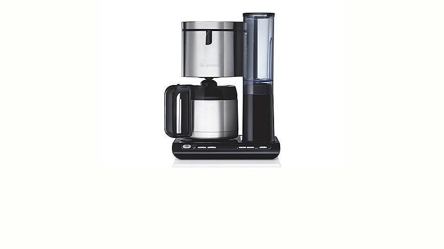 Bosch Kaffeemaschine »Styline TKA8651 / TKA8653«, mit Thermokanne, schwarz