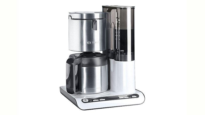 Bosch Kaffeemaschine »Styline TKA8651 / TKA8653«, mit Thermokanne, weiß