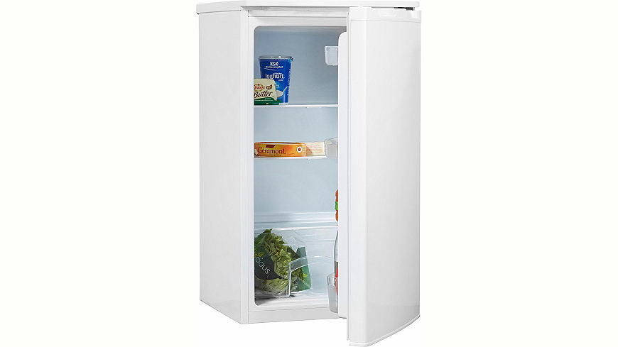Hanseatic Kühlschrank HKS 8548A1, Energieklasse A+, 84,2 cm hoch, weiß