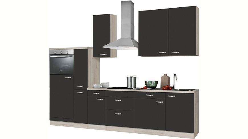 k chenzeile ohne e ger te optifit faro breite 300 cm ekinova. Black Bedroom Furniture Sets. Home Design Ideas