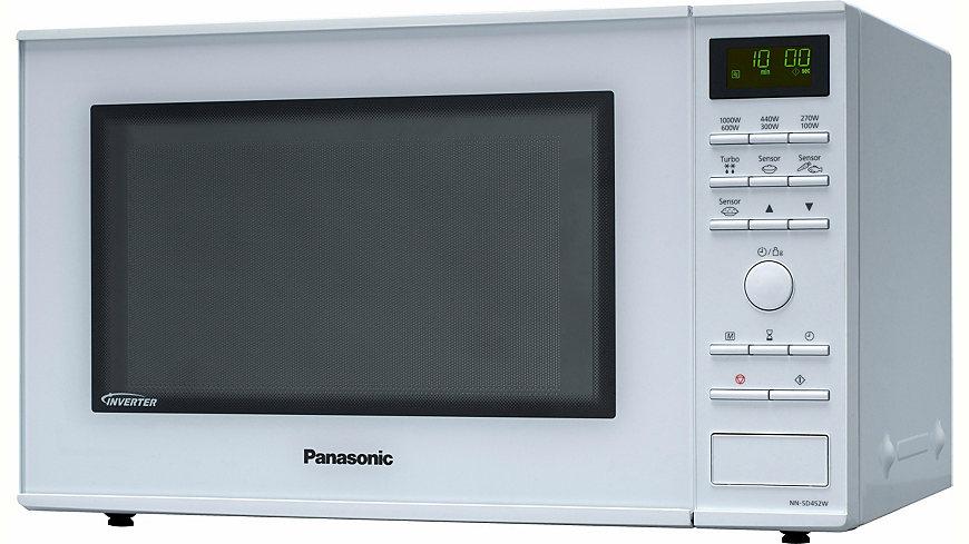Panasonic Mikrowelle NN-SD452WEPG, 32 Liter Garraum, 1000 Watt