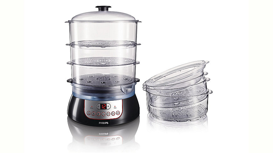 Philips Dampfgarer »Pure Essentials Collection HD9140/91«
