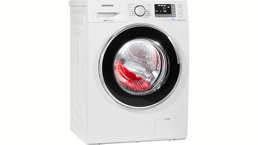 Waschmaschine WF90F5EBP4W/EG, A+++, 9 kg, 1400 U/Min, Energieeffizienz: