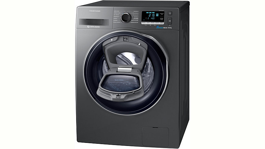 Samsung Waschmaschine WW80K6404QX/EG, A+++, 9 kg, 1400 U/Min, Energieeffizienz: