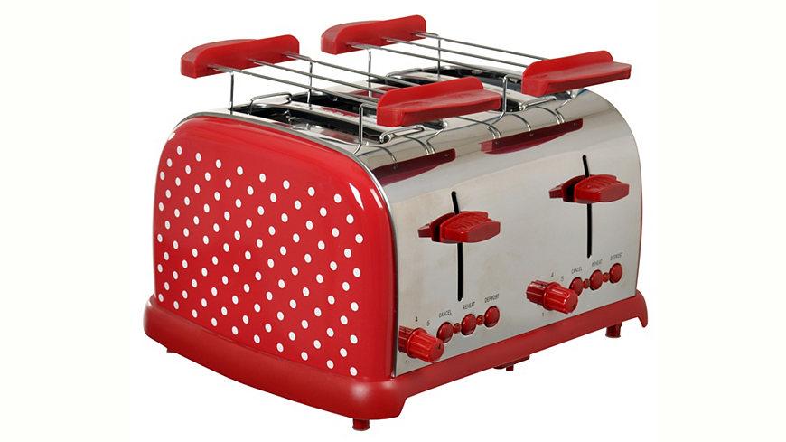 Team-Kalorik TKG Toaster TO 1009 RWD für 4 Scheiben, 700 Watt