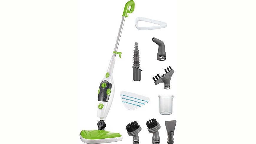 Clean Maxx cleanmaxx Dampfbesen 3in1, grün