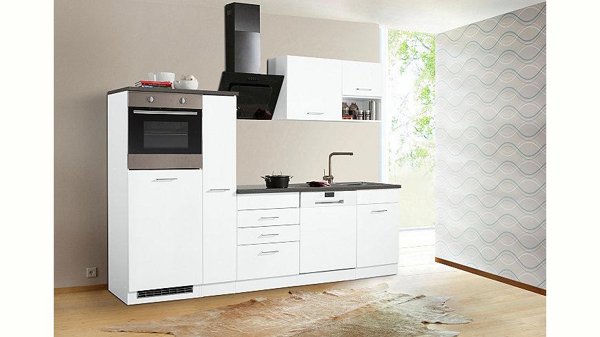held m bel k chenzeile ohne e ger te haiti breite 260 cm ekinova. Black Bedroom Furniture Sets. Home Design Ideas