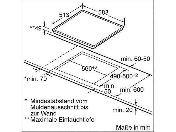 siemens elektro kochfeld von schott ceran et645hn17 ekinova. Black Bedroom Furniture Sets. Home Design Ideas