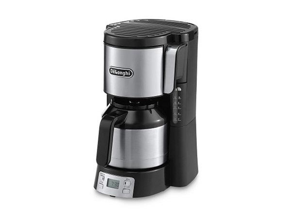 de longhi kaffeemaschine icm15750 mit 1 25 l thermokanne abschaltautomatik 1000 watt ekinova. Black Bedroom Furniture Sets. Home Design Ideas
