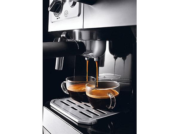 de 39 longhi kombi espresso kaffee maschine siebtr ger bco 420 1 mit milchaufsch umd se ekinova. Black Bedroom Furniture Sets. Home Design Ideas