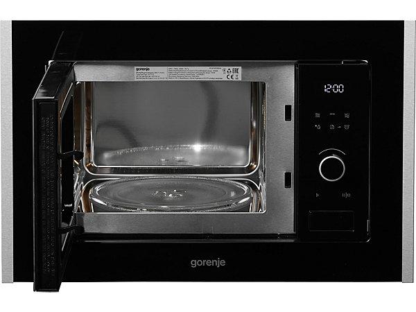 gorenje mikrowelle bm171a4xg mit grill 17 liter 700 watt energieeffizienz a ekinova. Black Bedroom Furniture Sets. Home Design Ideas