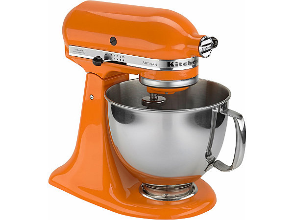 kitchenaid k chenmaschine artisan mit sonderzubeh r im wert von ca 214 tangerine ekinova. Black Bedroom Furniture Sets. Home Design Ideas