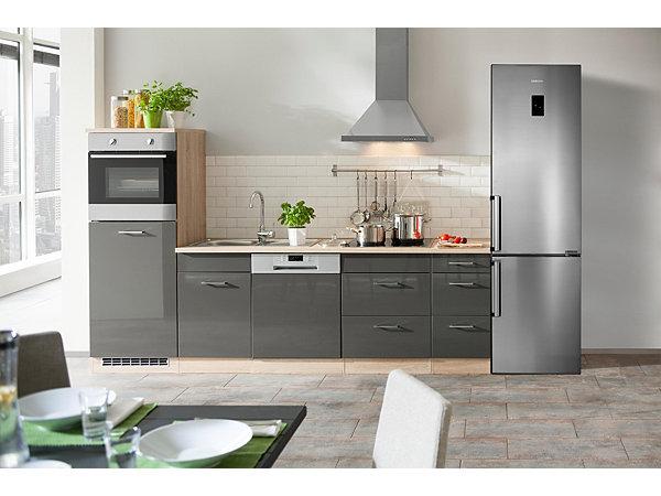 samsung k hl gefrierkombination rb37j5345ss ef a 201. Black Bedroom Furniture Sets. Home Design Ideas