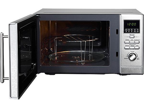 hanseatic kombi mikrowelle grill und hei luftfunktion. Black Bedroom Furniture Sets. Home Design Ideas