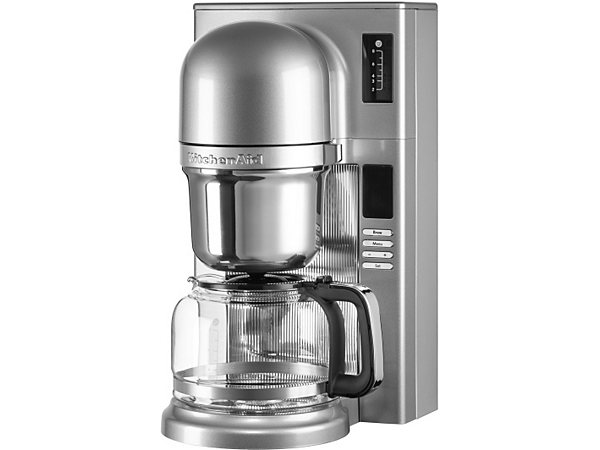 kitchenaid filterkaffeemaschine 5kcm0802ecu kontur silber ekinova. Black Bedroom Furniture Sets. Home Design Ideas