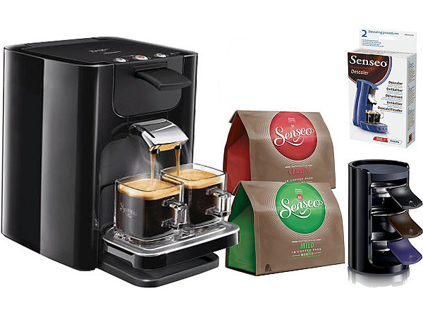 jetzt philips senseo kaffeepadmaschine hd7863 quadrante. Black Bedroom Furniture Sets. Home Design Ideas