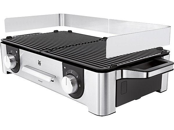 wmf grill lono family mit 2 getrennt regulierbaren grillfl chen 2400 watt ekinova. Black Bedroom Furniture Sets. Home Design Ideas