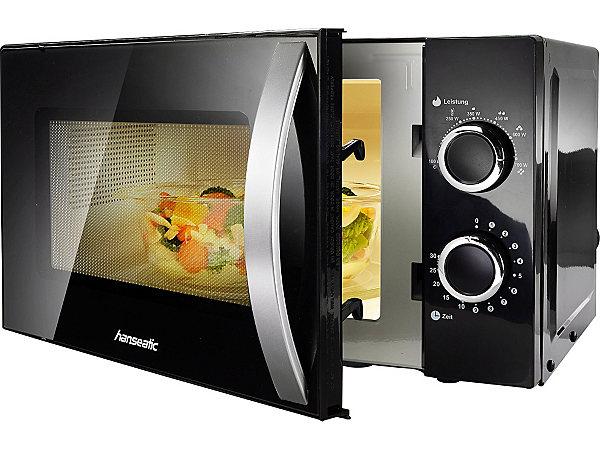 hanseatic mikrowelle 20 liter 700 watt ekinova. Black Bedroom Furniture Sets. Home Design Ideas