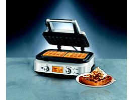 gourmetmaxx waffeleisen f r belgische waffeln 1200 watt. Black Bedroom Furniture Sets. Home Design Ideas